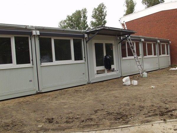 schulcontainer f r die freie walddorfschule in w hrden. Black Bedroom Furniture Sets. Home Design Ideas