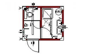 dusche wc urinal. Black Bedroom Furniture Sets. Home Design Ideas