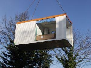 Acker raum systeme gmbh fertigbau modulbau systembau for Wohncontainer modern